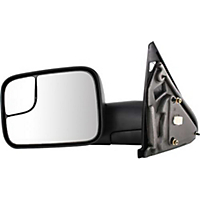 Kool Vue Mirror DG44EL Driver Side Textured Black